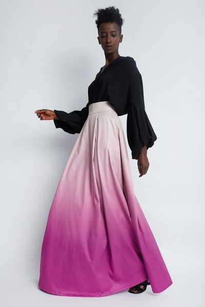 Record ombre skirt