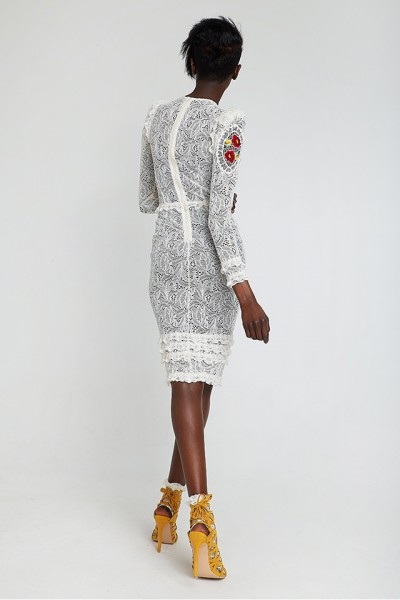 Richelieu lace dress