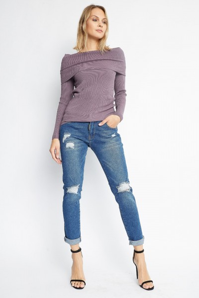 Electron knit sweater
