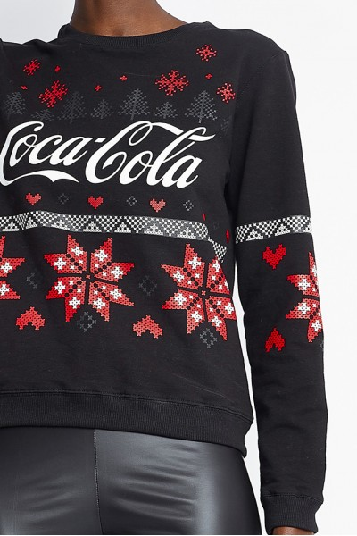 Forcett Snowflake Coca-Cola sweater