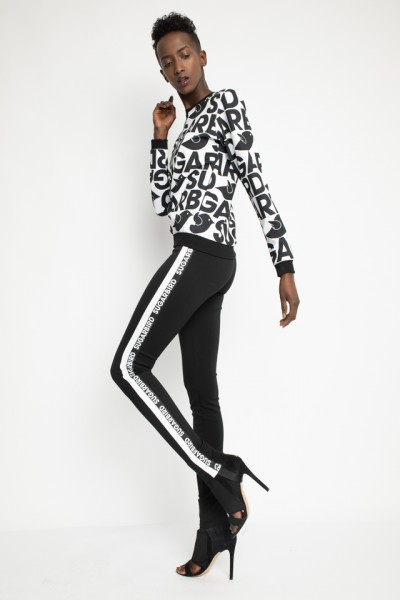 Tiria logo print leggings