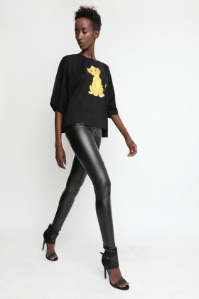 Sugarbird Lili leatherette leggings