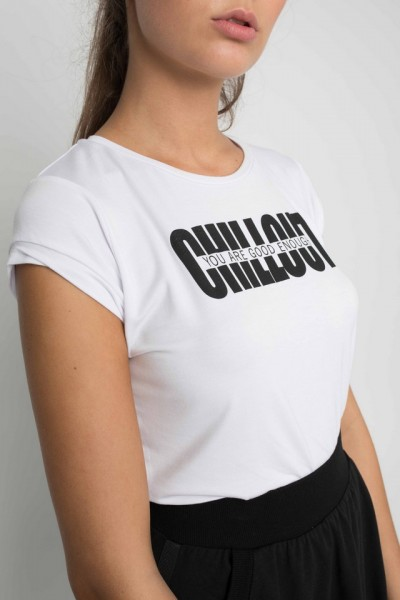 Light us Chill out t-shirt