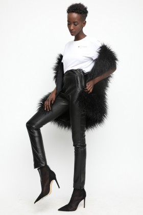 Sugarbird Indof leatherette trousers