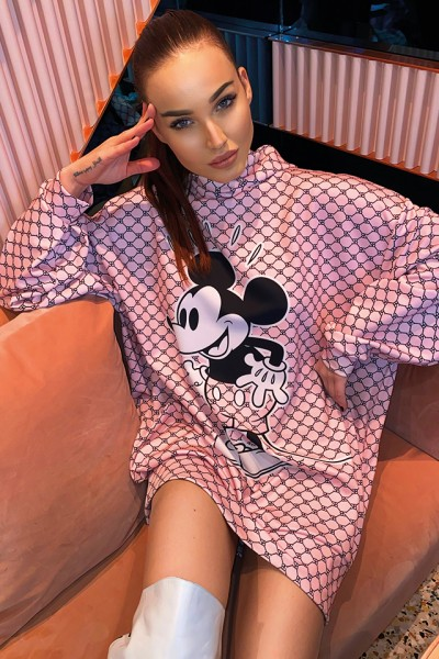 Sugarbird Felda Mickey hooded sweater