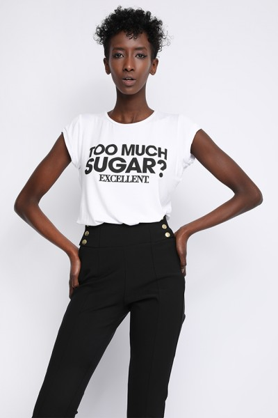Sugarbird Light us TOO MUCH t-shirt
