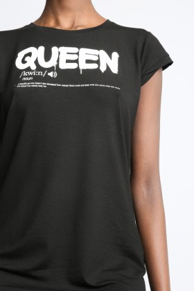 Sugarbird Light us Queen t-shirt
