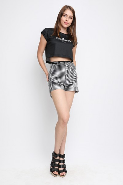 Sugarbird Lemp SB crop top