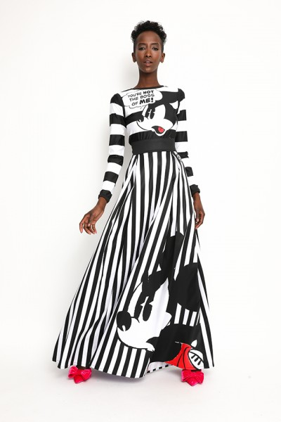 Sugarbird Record Mickey skirt