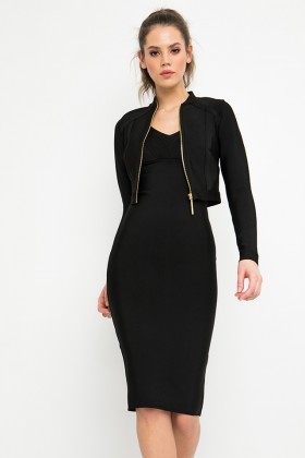 Sugarbird Portin the perfect bodycon jacket