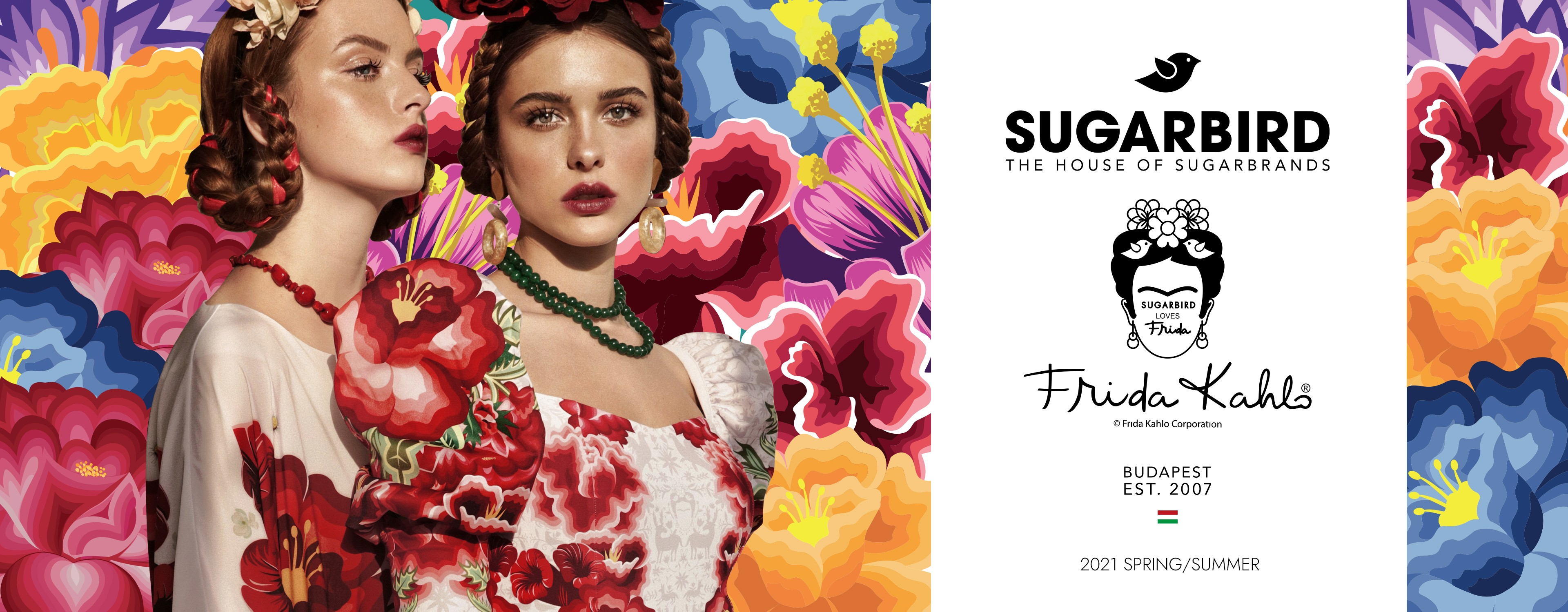 Sugarbird Frida Kahlo collection